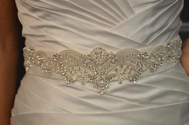 Elena Bridal Designs Wedding Sash Style E794 - Embellished Wedding Belt