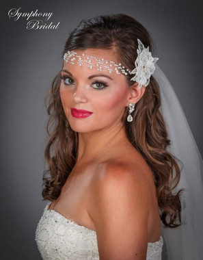 Symphony Bridal Hairwrap -  HW401