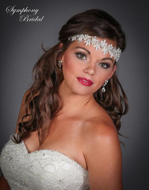 Symphony Bridal Hairwrap - HW403