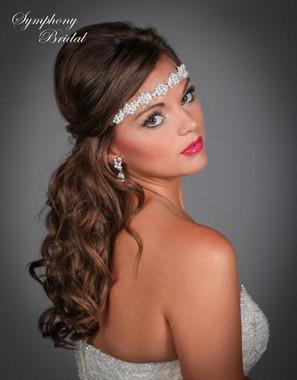 Symphony Bridal Hairwrap - HW404