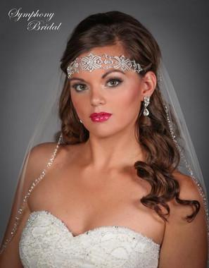 Symphony Bridal Hairwrap - HW406