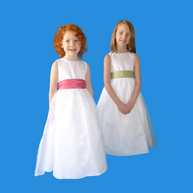 Rosebud Fashions Flower Girl Dresses  Style 5101 -Satin and Organza