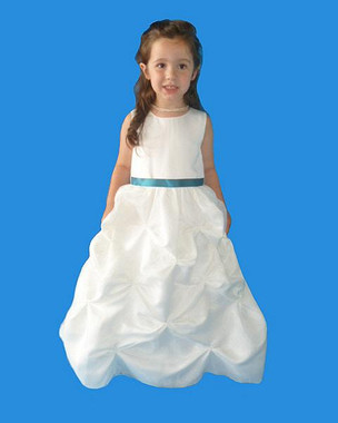 Rosebud Fashions Flower Girl Dresses  Style 5107 - Satin and Organza