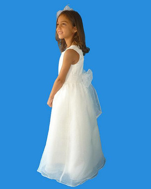 Rosebud Fashions Flower Girl Dresses  Style 5105 - Satin and Organza