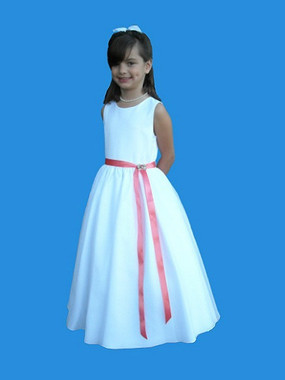 Rosebud Fashions Flower Girl Dresses  Style 5109 - Satin and Organza