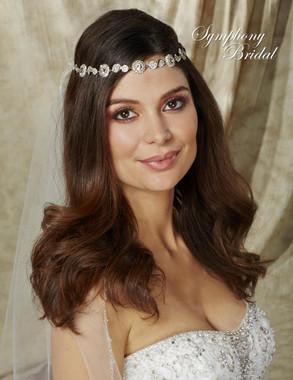 Symphony Bridal Hairwrap - HW500