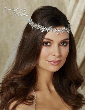 Symphony Bridal Hairwrap - HW501