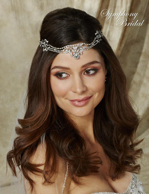 Symphony Bridal Hairwrap - HW502