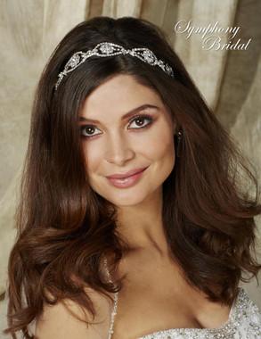Symphony Bridal Hairwrap - HW504