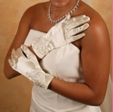 Formal or Bridal Gloves Style GL-46W