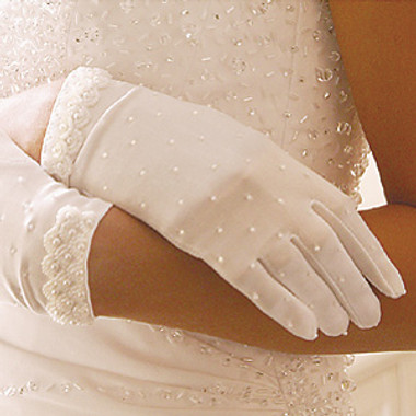 Formal or Bridal Gloves Style GL-80038-2W