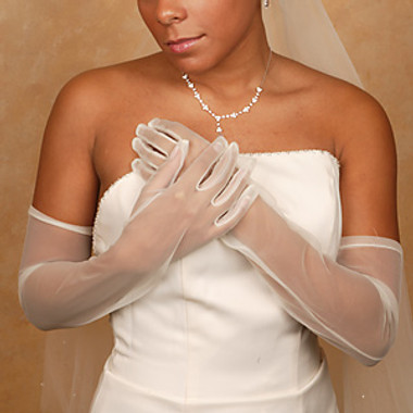 Formal or Bridal Gloves Style GL-70001-12A