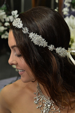 Elena Designs E808-  Jeweled Hairband