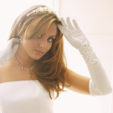 Formal or Bridal Gloves Style GL-851-14A