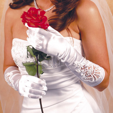 Formal or Bridal Gloves Style GL-1017E