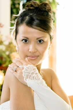 Formal Below The Elbow Fingerless Bridal Gloves GL-211V-8E