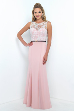 Alexia Designs Floor Length Style 4188 - Bella Chiffon / Lace