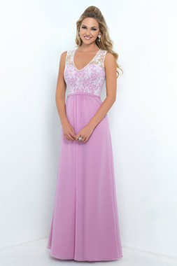 Alexia Designs Floor Length Style 4190 - Bella Chiffon / Lace