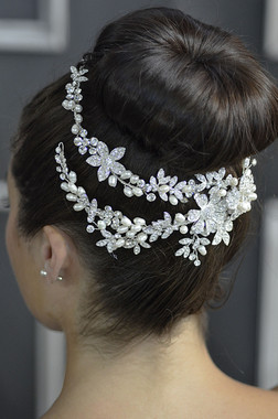 Elena Designs E781 -  Jeweled Headpiece