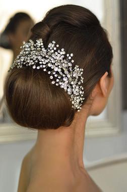 Elena Bridal Designs E765 - Crystal Headband