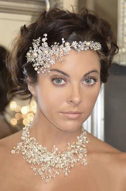 Elena Bridal Designs E771- Jeweled Headband