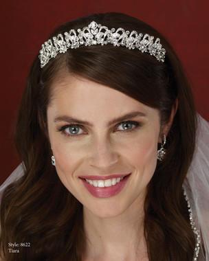 Marionat Bridal Accessories - Marionat Bridal Headpieces 8622- Rhinestone Tiara