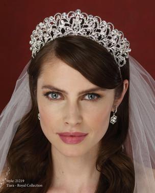 Royal  Accessory - Marionat Bridal Headpieces 21219 - Rhinestone Tiara