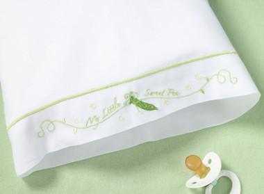 Sweet Pea Pillowcase- Lillian Rose