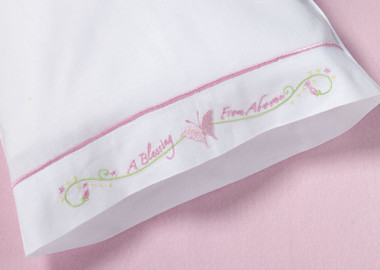 Butterfly Pillowcase - Lillian Rose