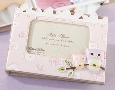 Pink Owl Photo Album - Lillian Rose
