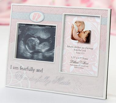 Wonderfully Made Pink Ultrasound Frame - Lillian Rose