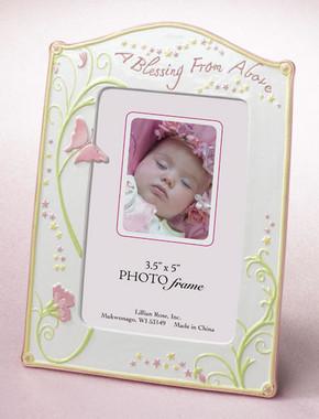 Butterfly Baby Frame - Lillian Rose