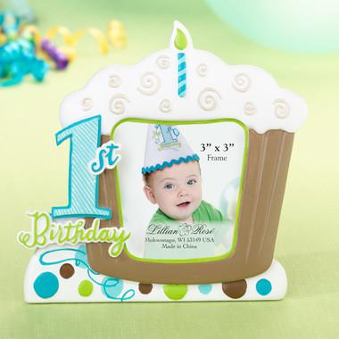 1st Birthday Frame - Blue - Lillian Rose