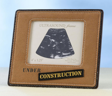 Under Construction Ultrasound Frame - Lillian Rose