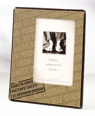 Deployment Daddy Picture Frame - Lillian Rose