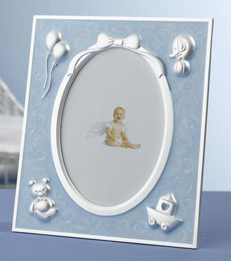 Blue Baby Frame - Lillian Rose