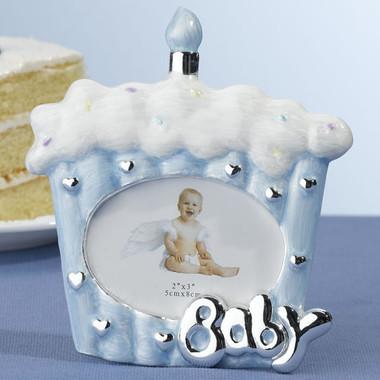 Blue Cake Baby Frame - Lillian Rose