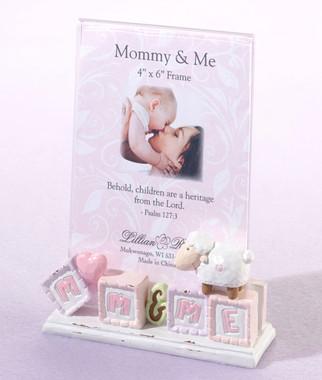 """Little Lamb """"Mommy & Me"""" Frame - Lillian Rose"""