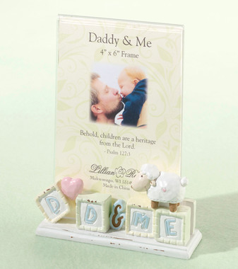 "Little Lamb ""Daddy & Me"" Frame - Lillian Rose"
