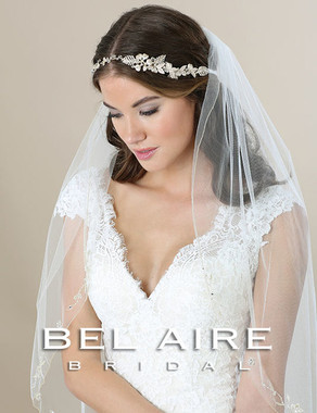 Bel Aire Bridal Accessory Headpiece 6576- Bridal Hair Headband