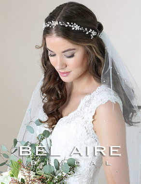 Bel Aire Bridal Garland 6574- Pearl Hair Garland