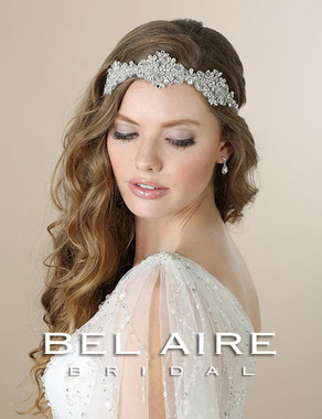 Bel Aire Bridal Accessory Headpiece 6552- Bridal Hair Headband