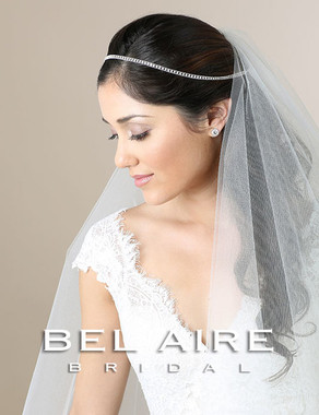 Bel Aire Bridal Accessory Headpiece 6564- Bridal Hair Vine