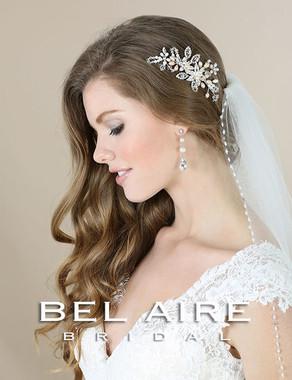 Bel Aire Bridal Accessory Headpiece 6569- Bridal Hair Comb