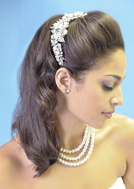 Ansonia Bridal 8406- Bridal Rhinestone Comb