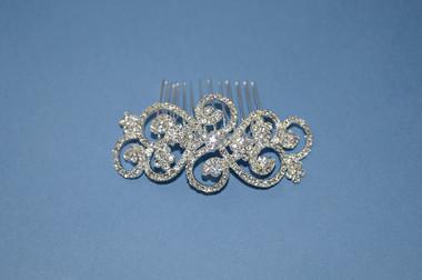 Ansonia Bridal 8421- Bridal Rhinestone Comb