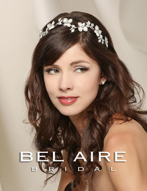 Bel Aire Bridal Accessory Headpiece 6516- Bridal Hairband