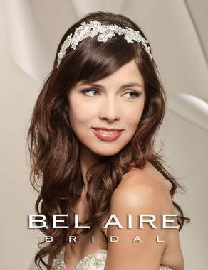 Bel Aire Bridal Accessory Headpiece 6528- Bridal Hairband
