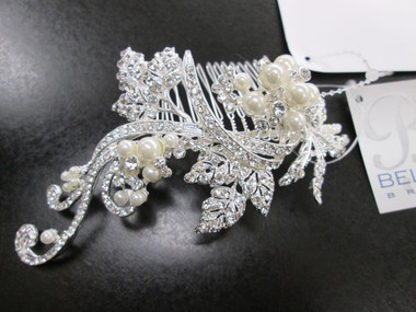 Bel Aire Bridal Accessory Headpiece 6402- Bridal Hair Comb