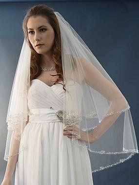 Ansonia Bridal Veil Style 469S - Fingertip Wedding Veil